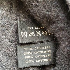 Ralph Lauren Sweaters - Ralph Lauren cashmere dark grey cable sweater